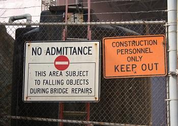 Safety Flash-No-Admittance-Sign-1496660-2
